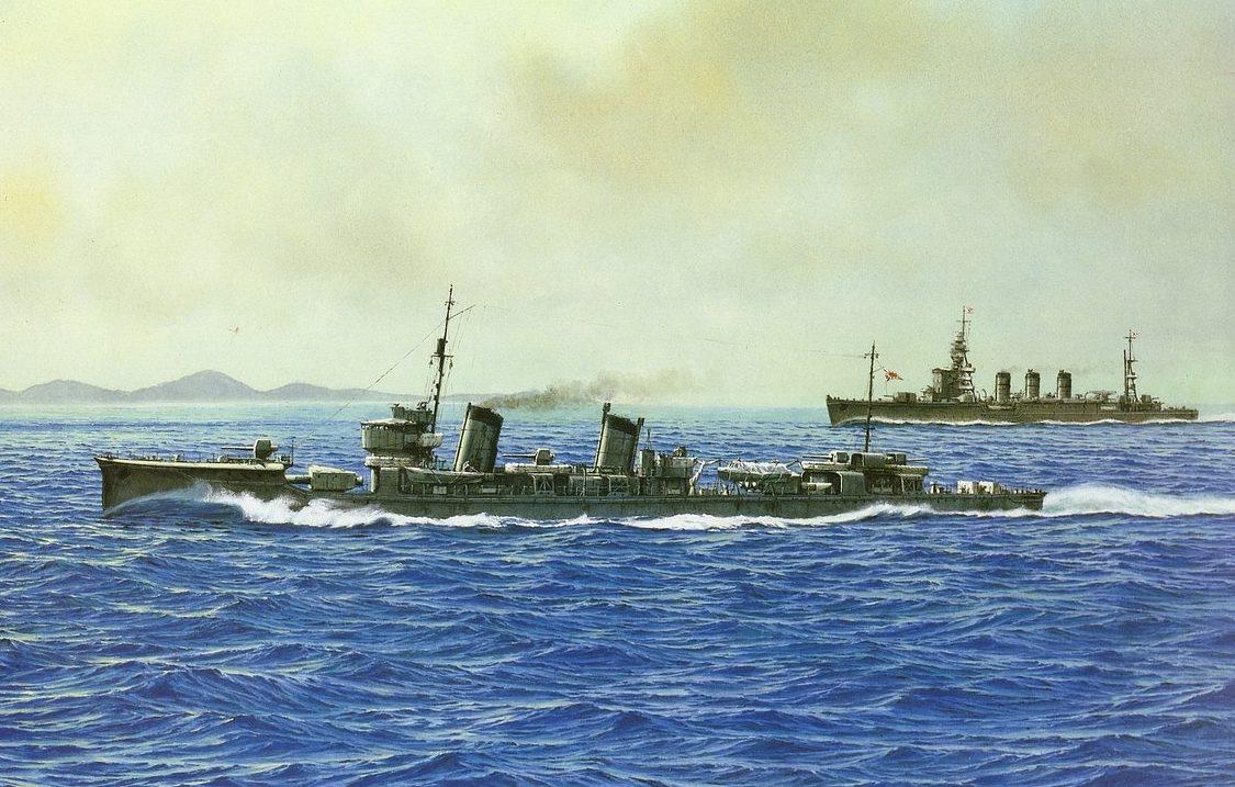 Takeshi Yuki. Эсминец «Fumizuki».