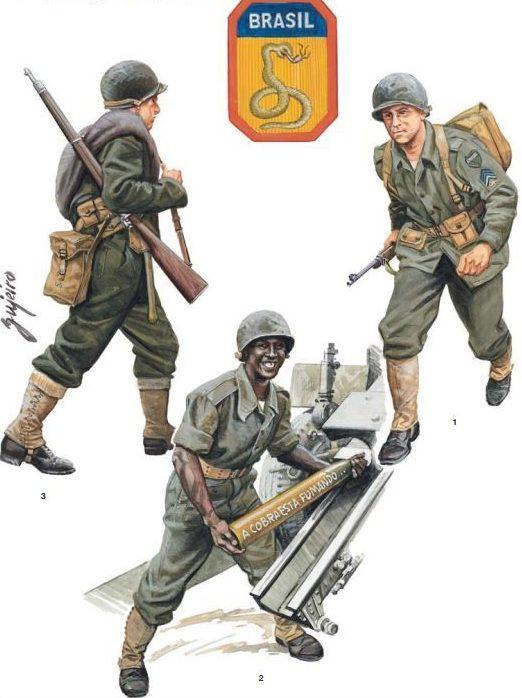 Военнослужащие Бразильской армии.