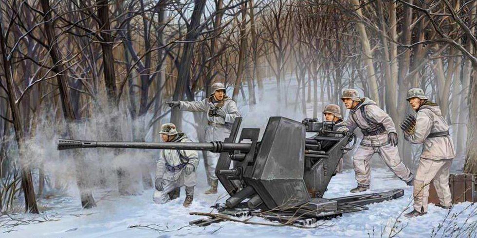Wai Vincent. Орудие Flak-43.