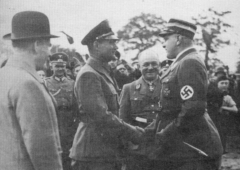 Рудольф Гесс и Эдмунд Гейне. 1933 г.