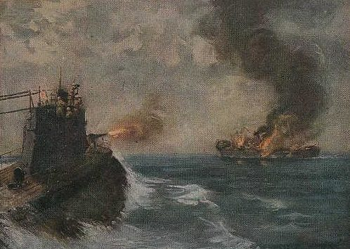 Atsushishiro Kobayakawa. Атака подводной лодки.