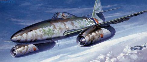 Komatsuzaki Shigeru. Истребитель Ме-262.