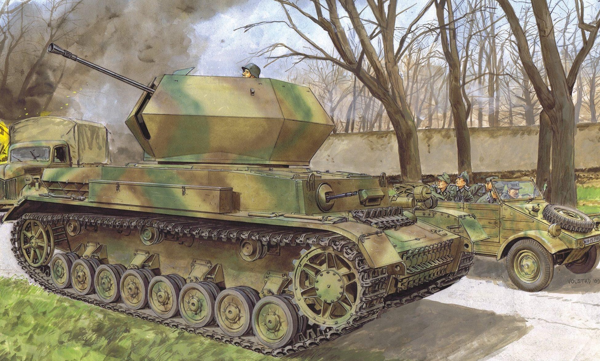 Volstad Ronald. ЗСУ 3.7-cm Flak 43.