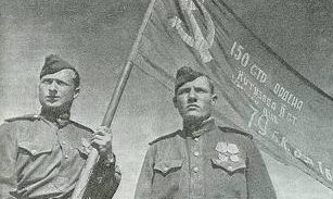 Снимок, лишивший Парад Победы Знамени Победы.
