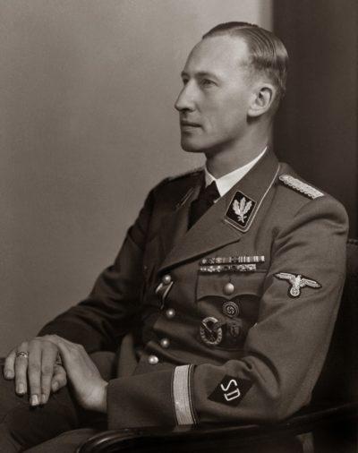 Рейнгард Гейдрих. Начальник Главного управления имперской безопасности.
