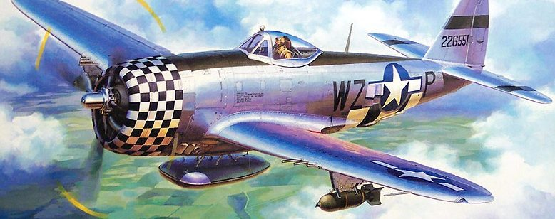 Komatsuzaki Shigeru. Истребитель Р-47.