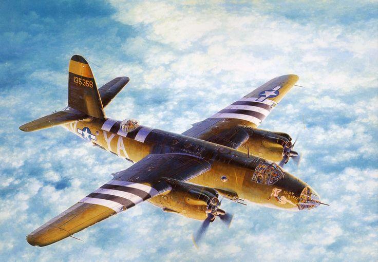 Shigeo Koike. Бомбардировщик Martin B-26B «Marauder».