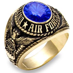 Традиционные кольца военнослужащих ВВС.