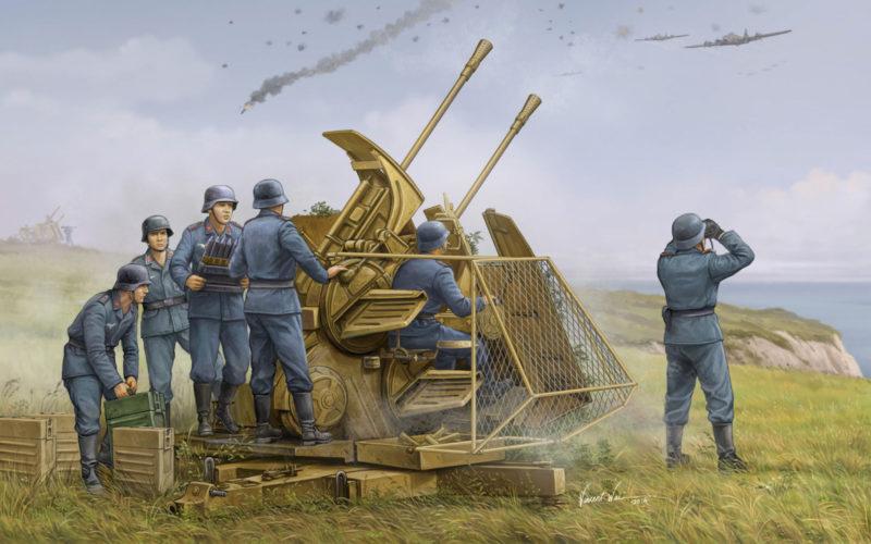 Wai Vincent. Зенитное орудие 37mm Flak-43 Zwilling.