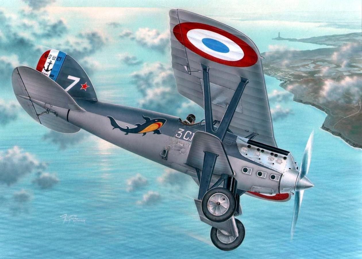 Machácek Zdenek. Истребитель Nieuport Delage Ni-D 62.