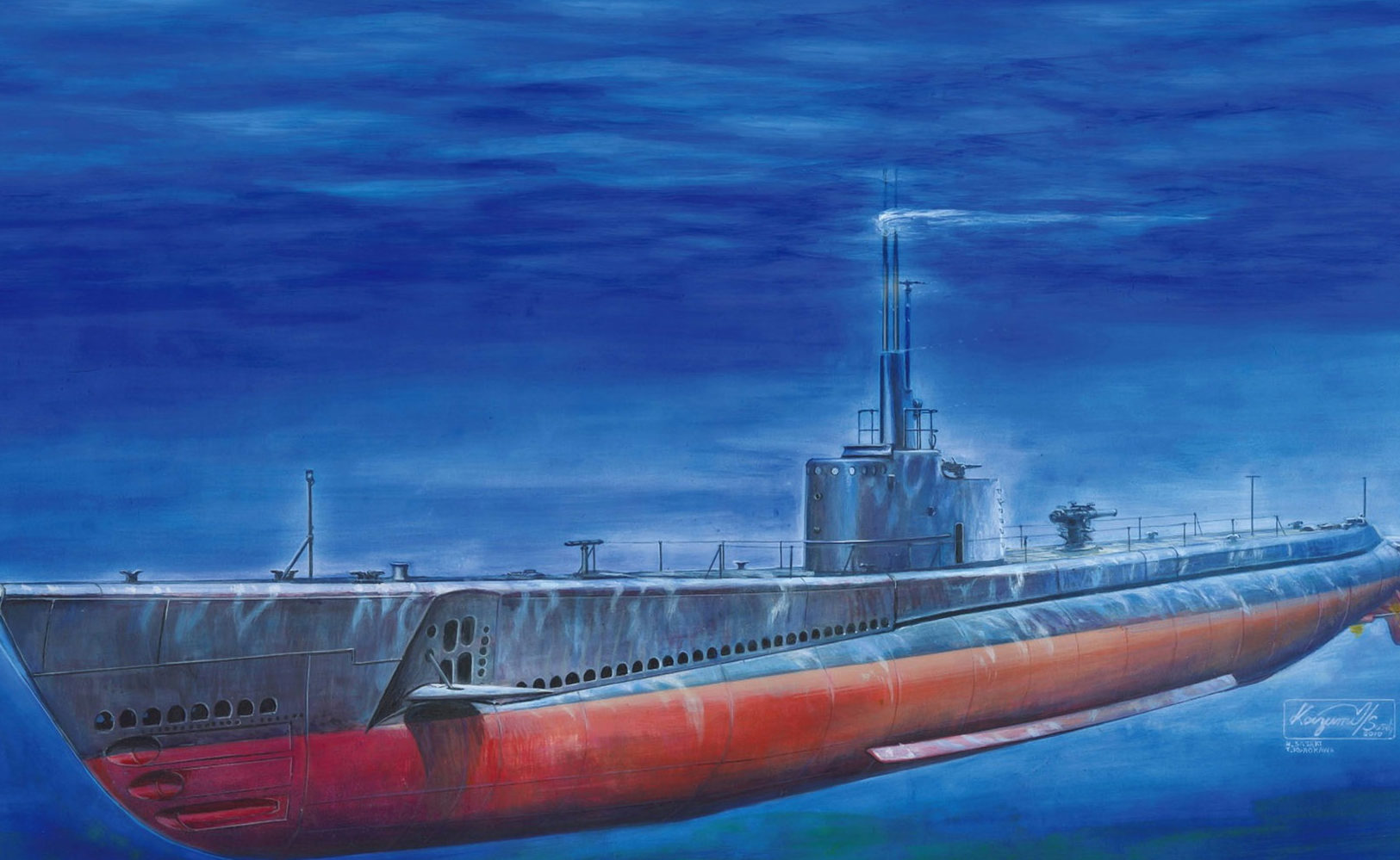 Sasaki H. & Kurokawa T. Подлодка класса Gato.