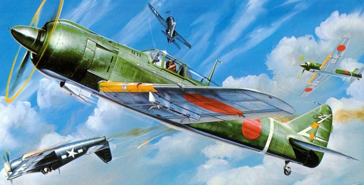 Shigeo Koike. Истребитель Kawasaki Ki-100.