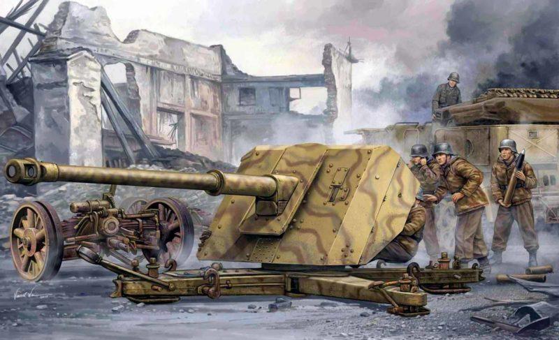 Wai Vincent. Противотанковое орудие Pak-43.