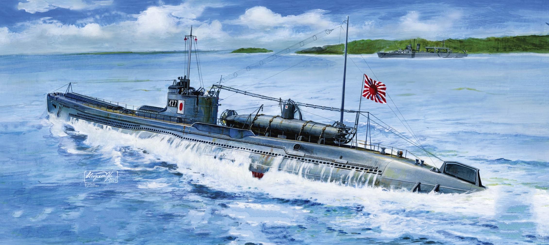 Sasaki H. & Kurokawa T. Подводная лодка І-27.