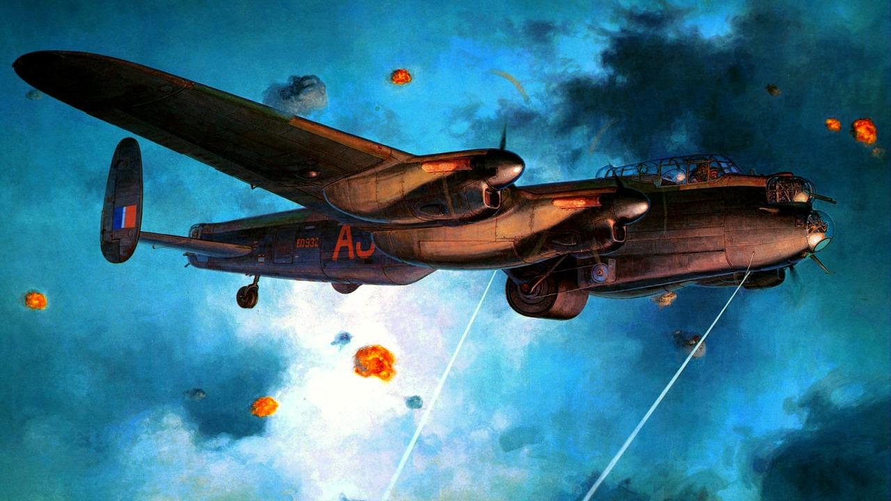 Shigeo Koike. Бомбардировщик Lancaster B Mk3.