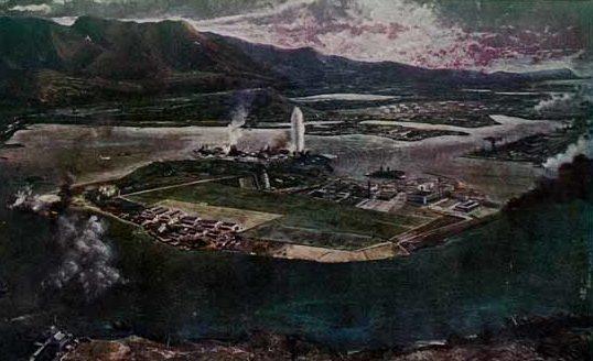 Fujita Foujita. Атака на Pearl Harbor.