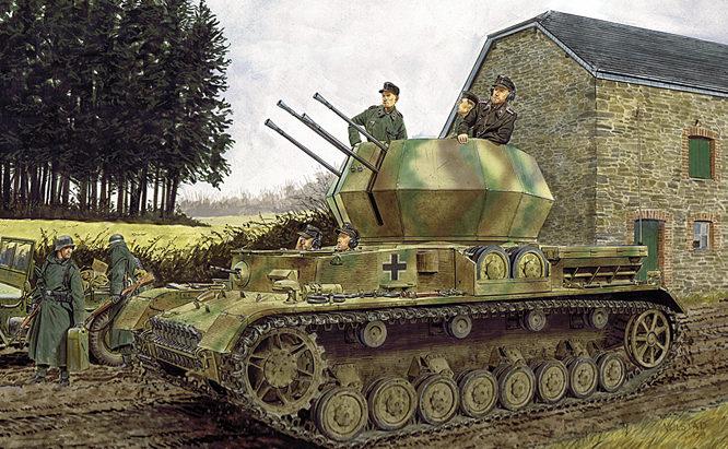 Volstad Ronald. ЗСУ 2-cm Flakpanzer IV.