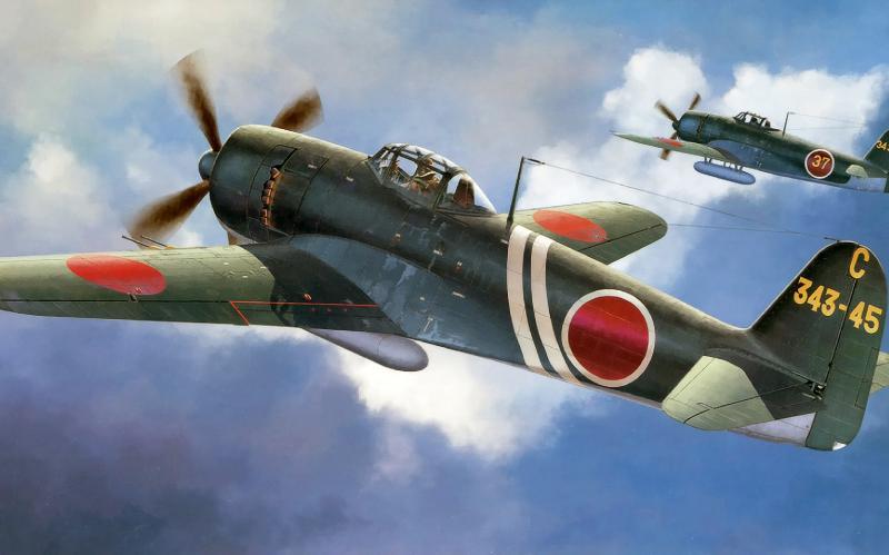 Shigeo Koike. Истребитель Kawasaki N-1K-J «Shiden».