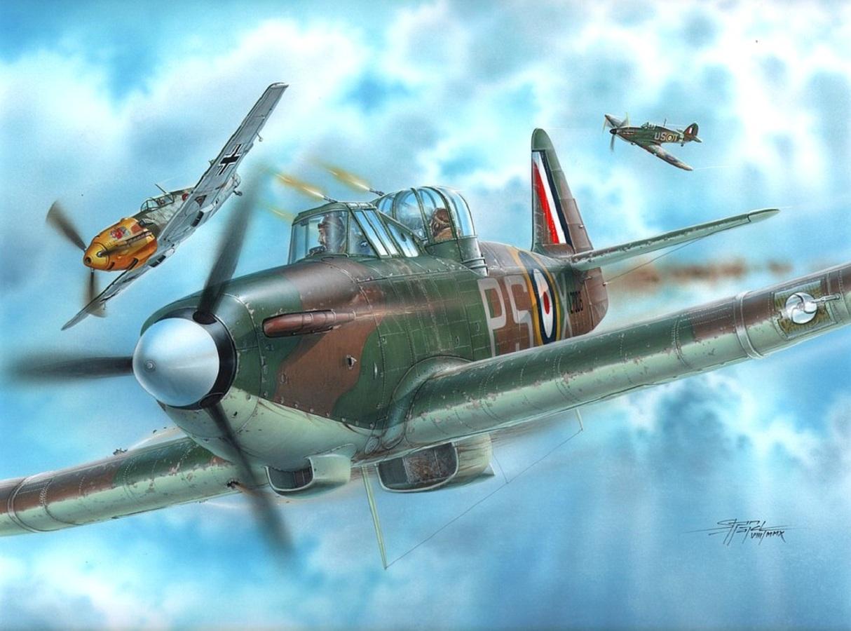 Hajek Stanislav. Истребитель Boulton-Paul Defiant Mk.I.