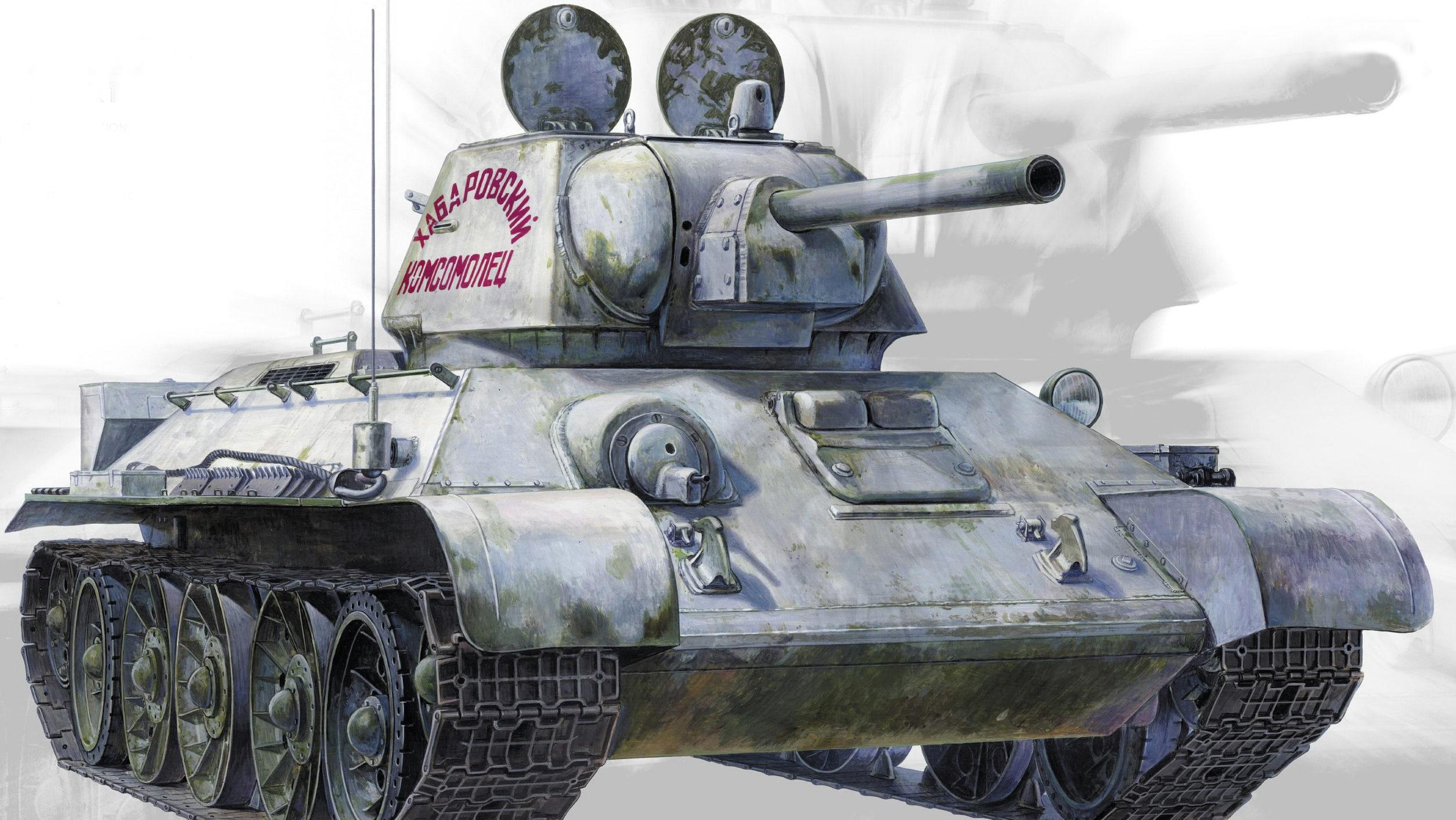 Sasaki H. & Kurokawa T. Танк Т-34-76.