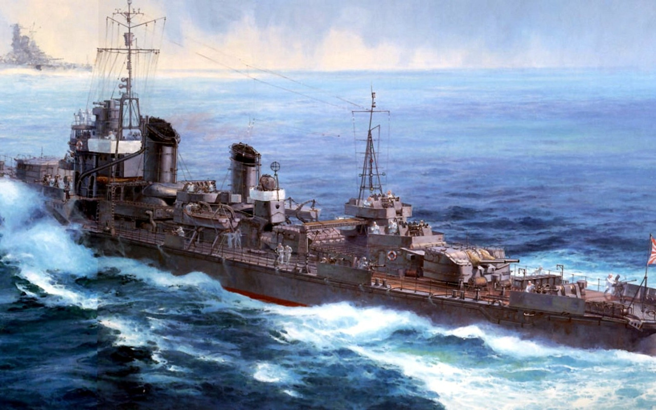 Takeshi Yuki. Эсминец «Yukikaze».