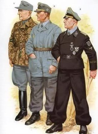 Офицеры СС.
