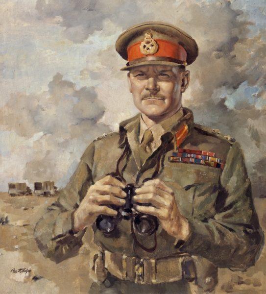 McIntyre Peter. Генерал-майор Bernard Freyberg.