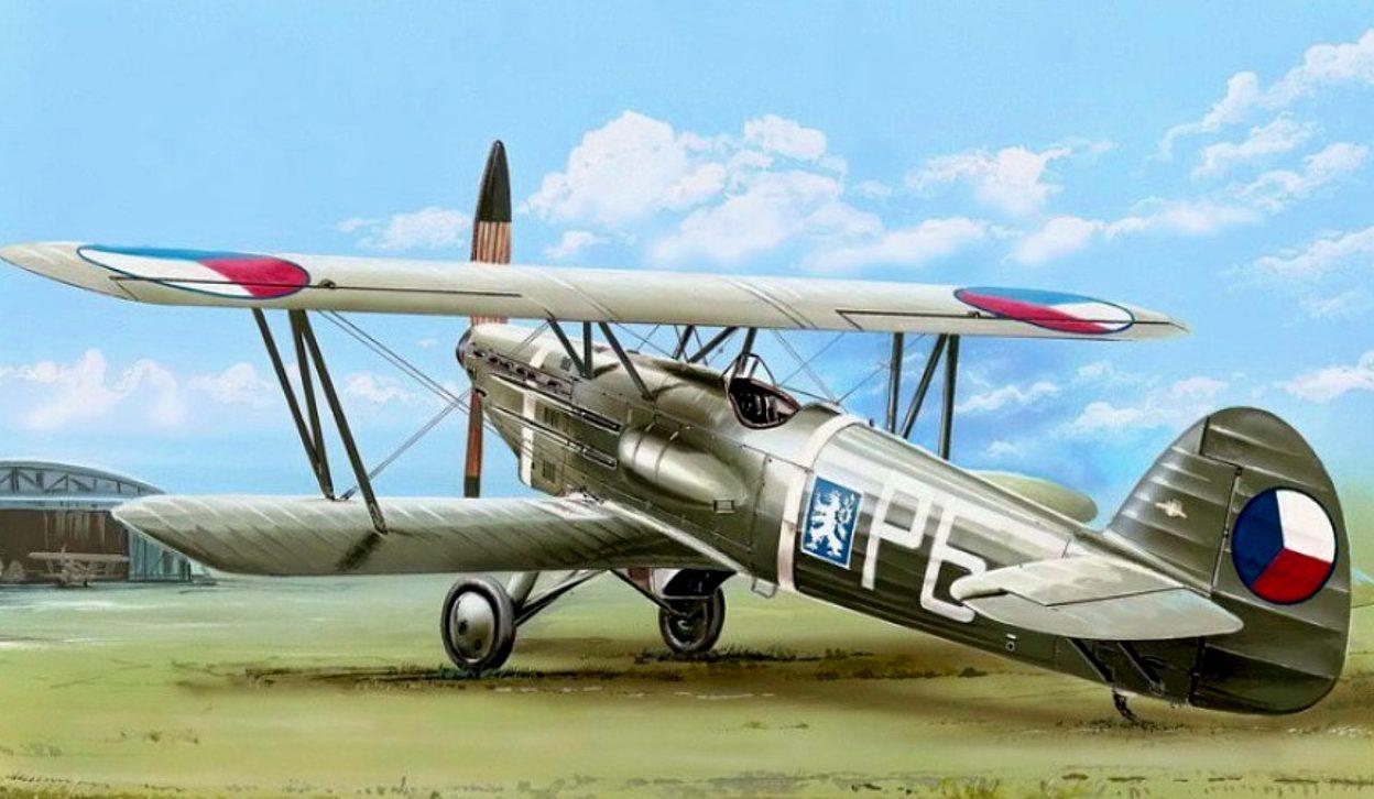 Machácek Zdenek. Истребитель Avia B.534 II.