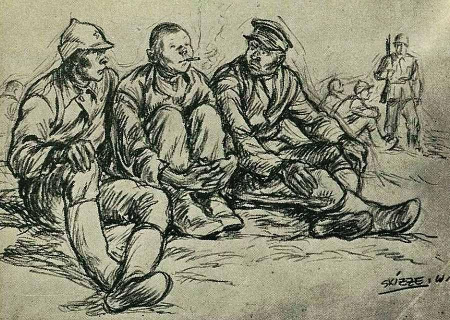 Wigforss Finn. Советские военнопленные.