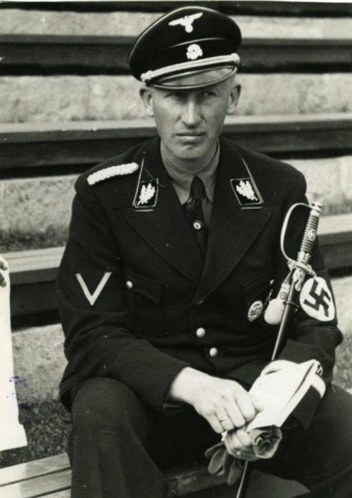 Рейнгард Гейдрих. 1935 г.