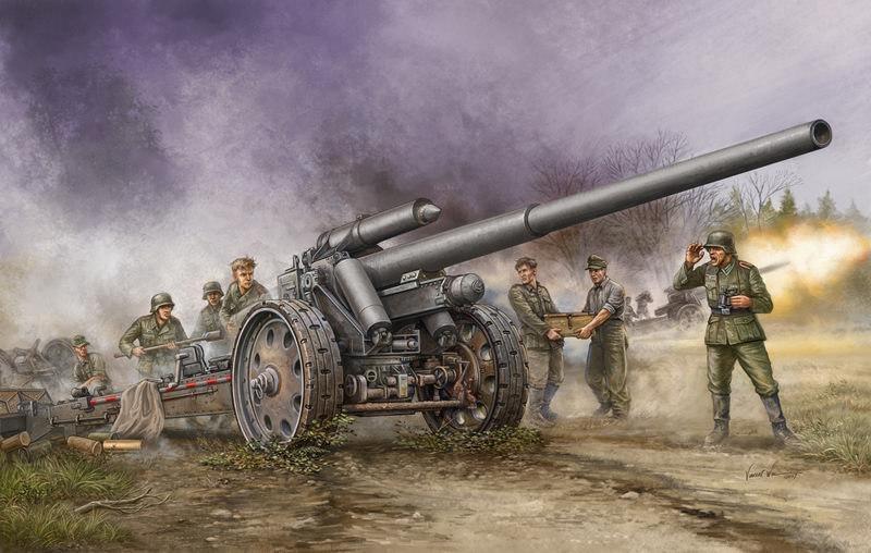 Wai Vincent. Гаубица 10.5cm s.K.18 Kannon.