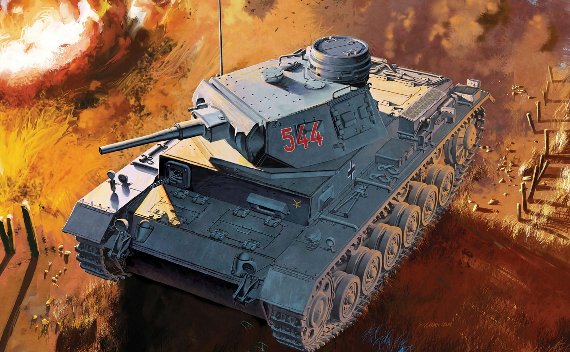 Heum Chang. Pz.Kpfw. III Ausf. G.
