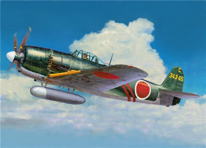 Shigeo Koike. Истребитель Kyushu J-7W «Shinden».