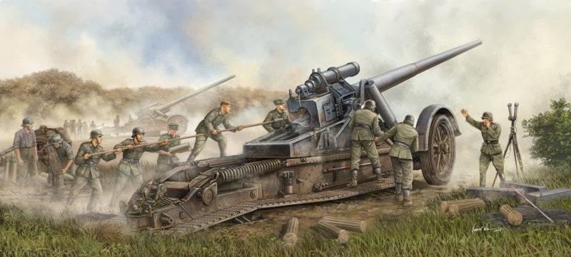 Wai Vincent. Гаубица 17 cm Kanone 18.