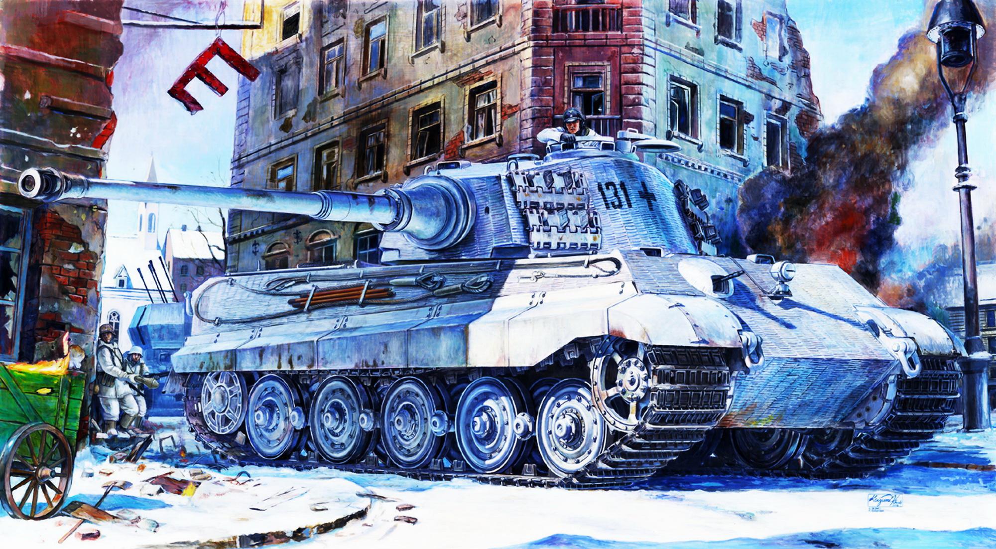Sasaki H. & Kurokawa T. Танк Tiger II.