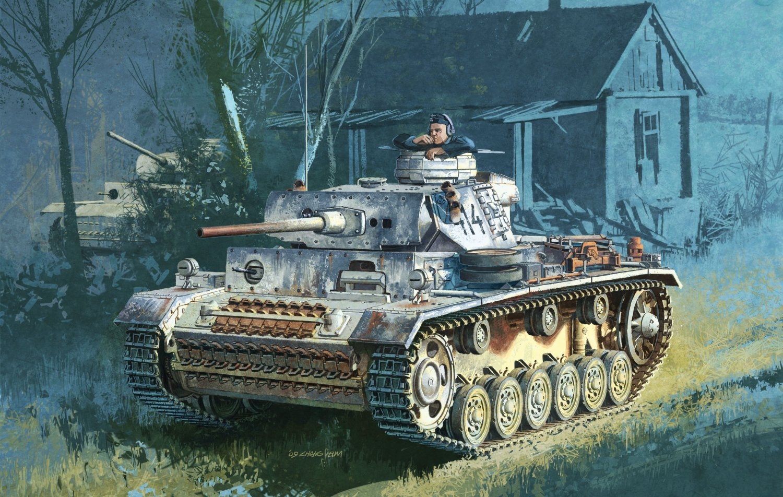 Heum Chang. Танк Pz.Kpfw.III Ausf.M.