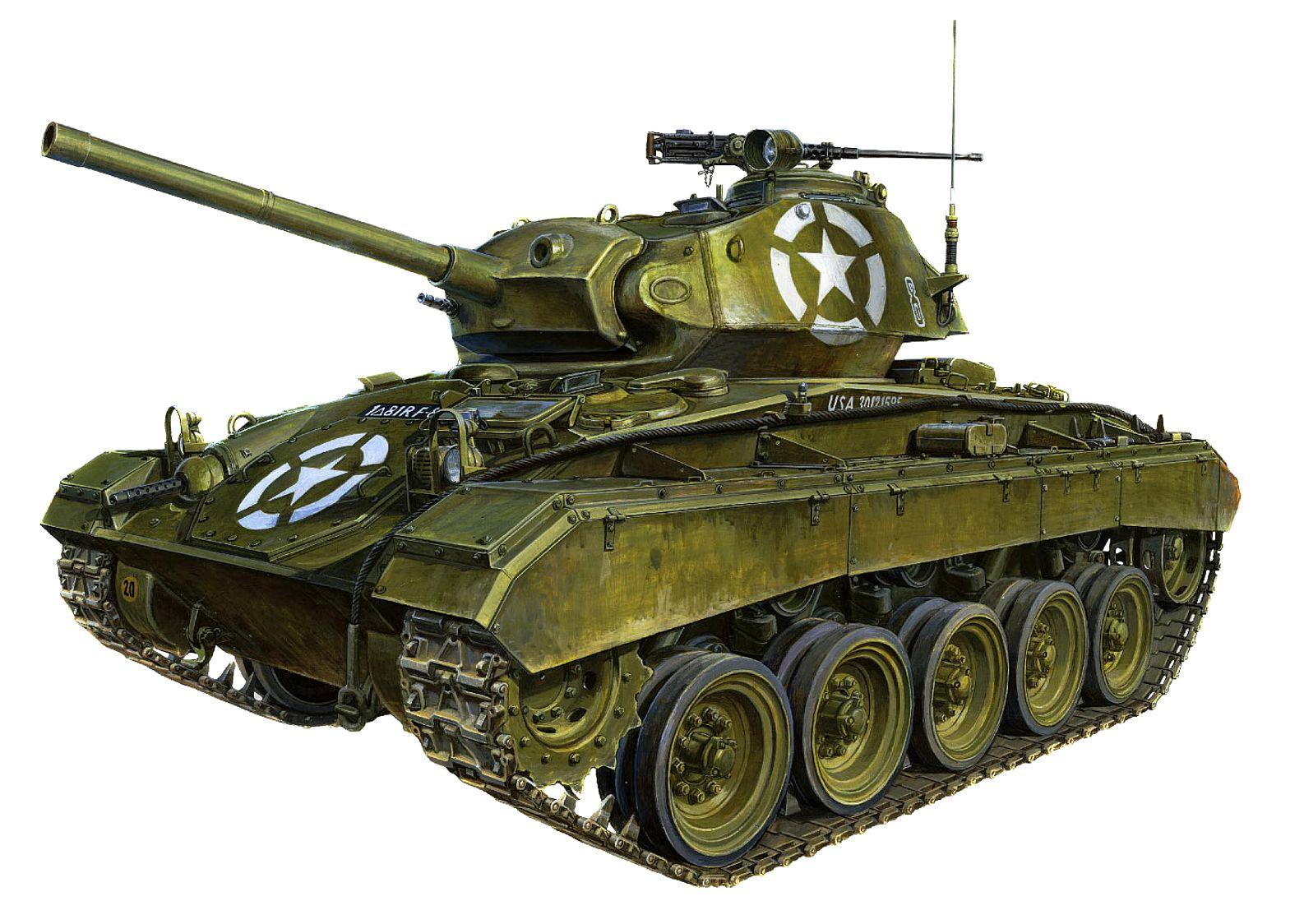 Sasaki H. & Kurokawa T. Танк M-24 Chaffee.