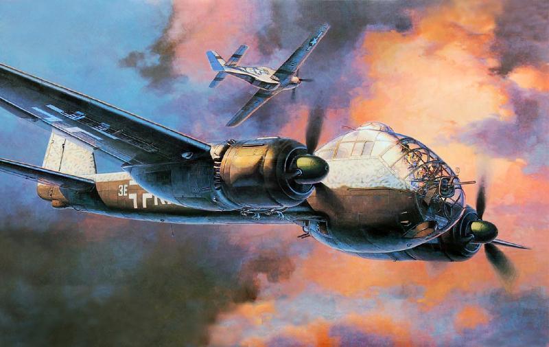 Shigeo Koike. Бомбардировщик Ju-188.