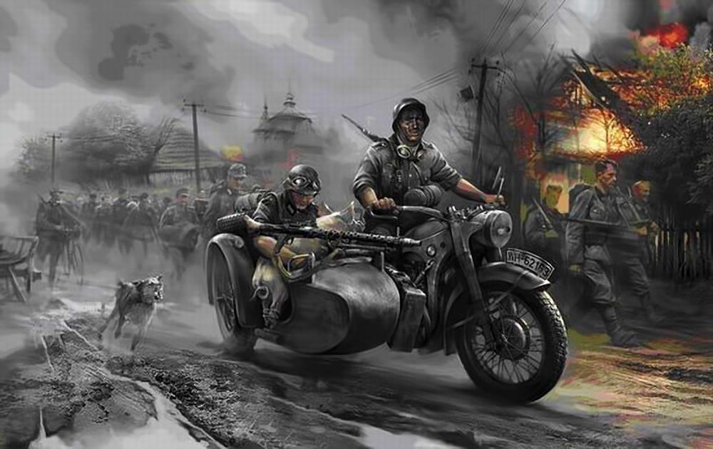 Wai Vincent. Вермахт марширует по России.