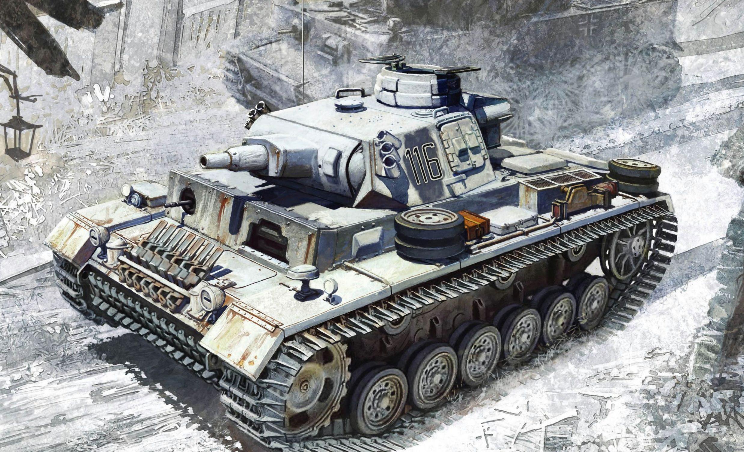 Heum Chang. Танк Pz.Kpfw. III Ausf. N.