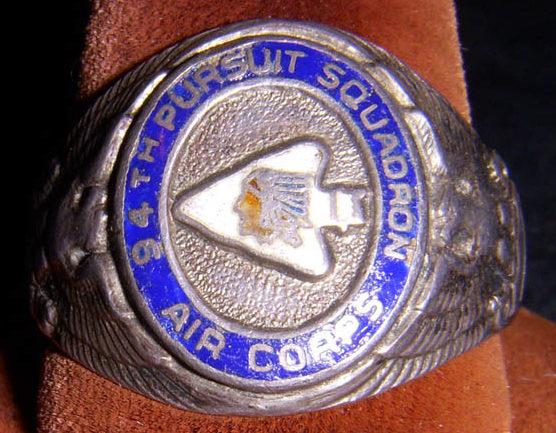 Серебряное кольцо 94-й истребительной эскадрильи.