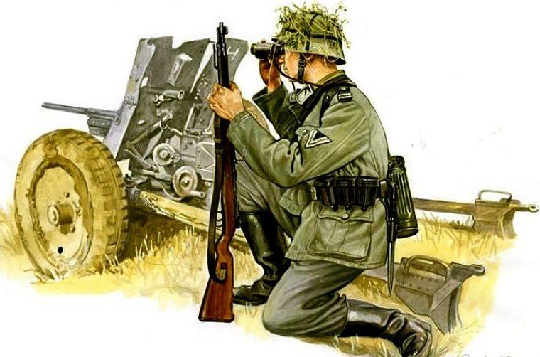 Артиллеристы.