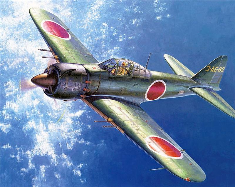 Shigeo Koike. Истребитель Mitsubishi A-6М5 «Zero».