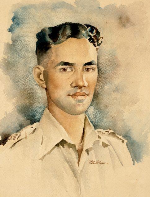 McIntyre Peter. Младший лейтенант Moananui-a-Kiwa Ngārimu.