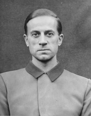 Карл Брандт Нюрнбергском процессе. 1947 г.