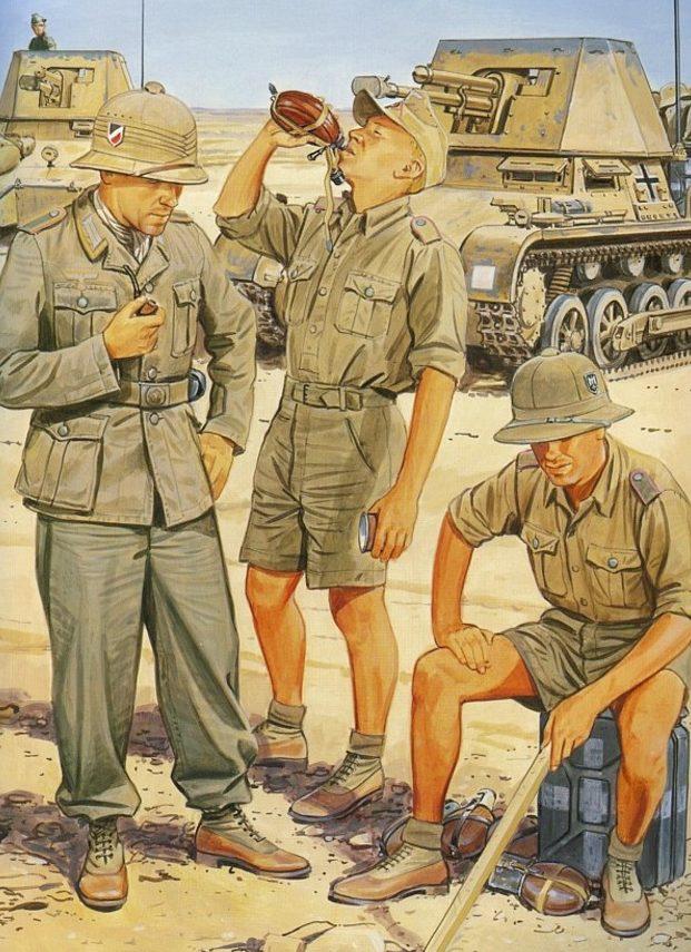 Volstad Ronald. САУ 1-го Африканского корпуса.