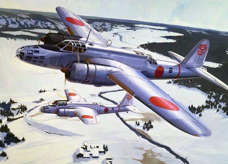 Shigeo Koike. Тяжелый бомбардировальщик Nakajima Ki-49 «Donryu».