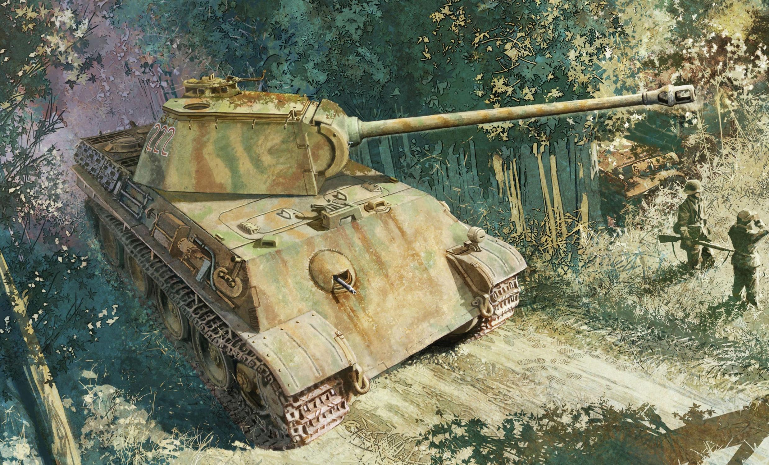 Heum Chang. Танк Pz.Kpfw. V Ausf. G.
