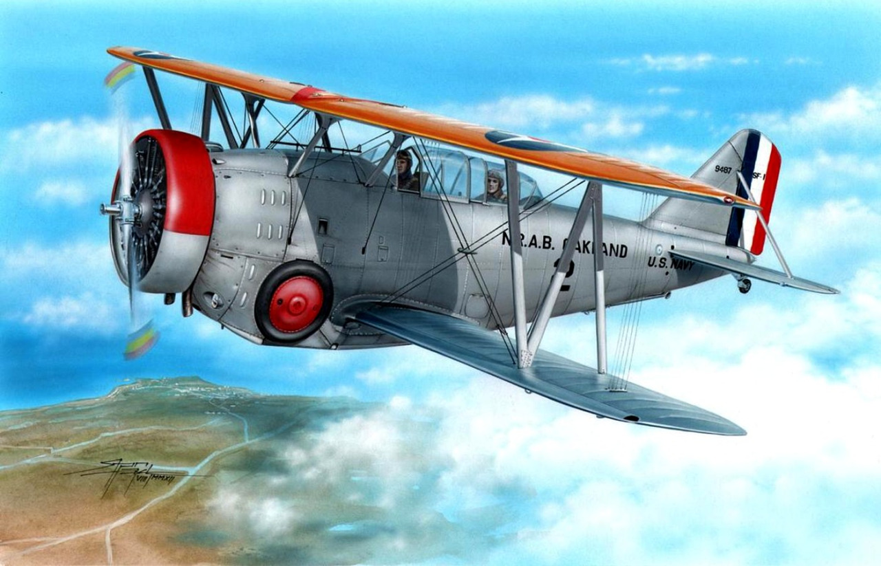 Hajek Stanislav. Истребитель Grumman SF-1.