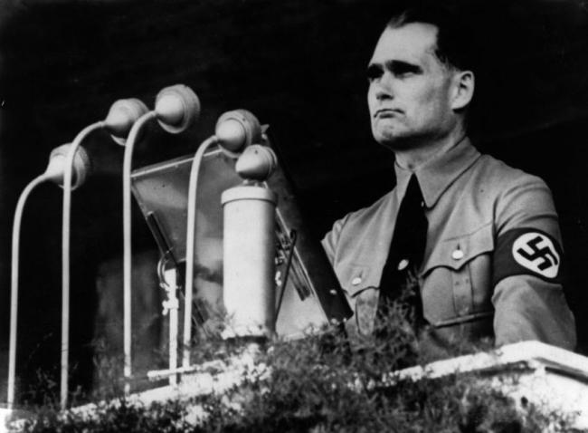 Рудольф Гесс 1937 г.